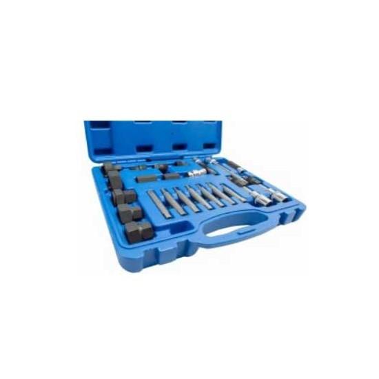 Zestaw nasadek i kluczy do alternatora KB08724