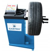 Manual semi-automatic wheel balancer CASB90